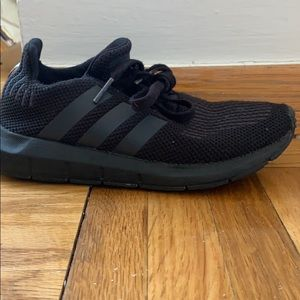 These are black Adidas Size 13